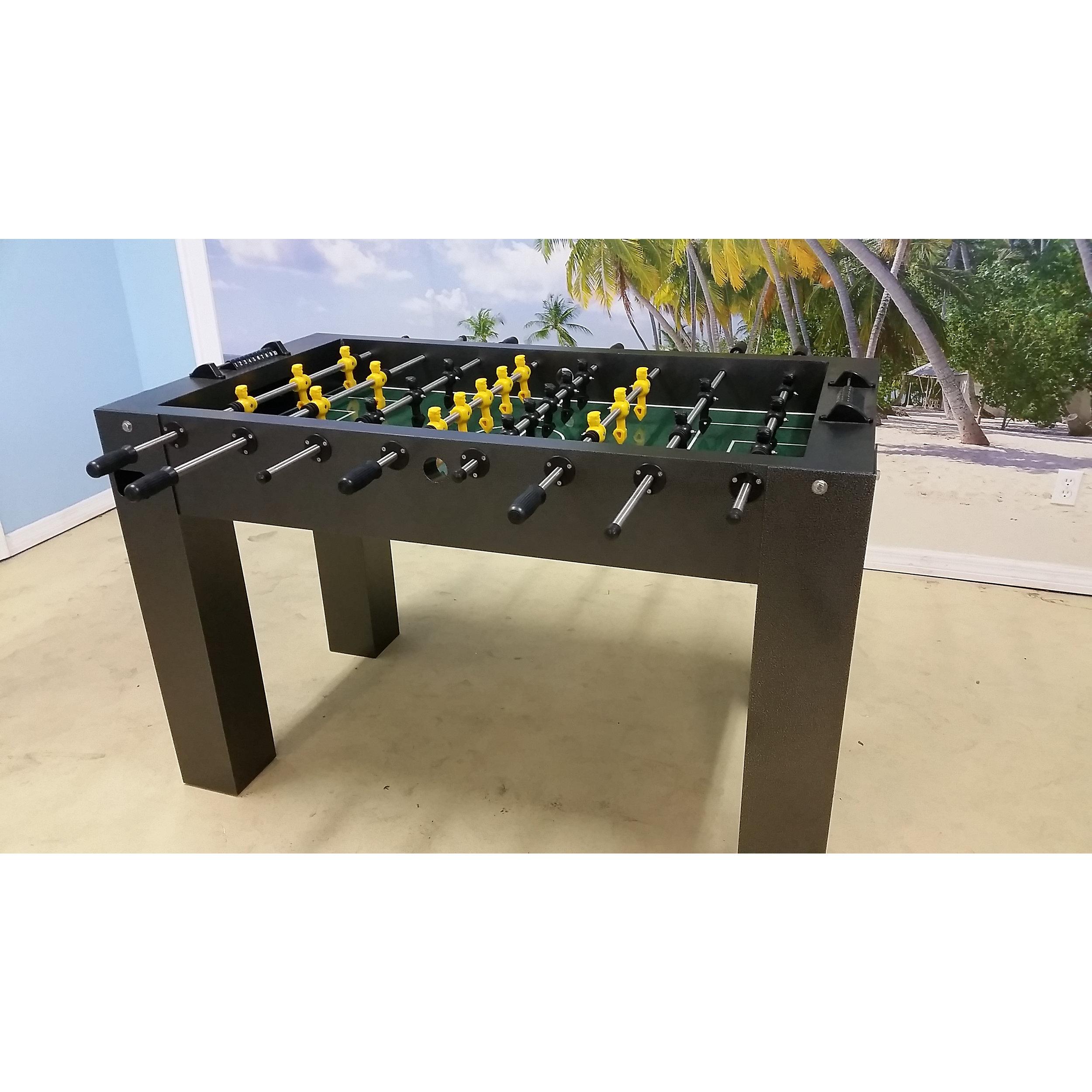 Carrom Black Premium Foosball Men 13 Player Set Carrom Signature Foosball Table