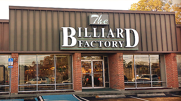 Billiard Factory Pool Tables Game Room Furnishings And More - Pool table jacksonville fl