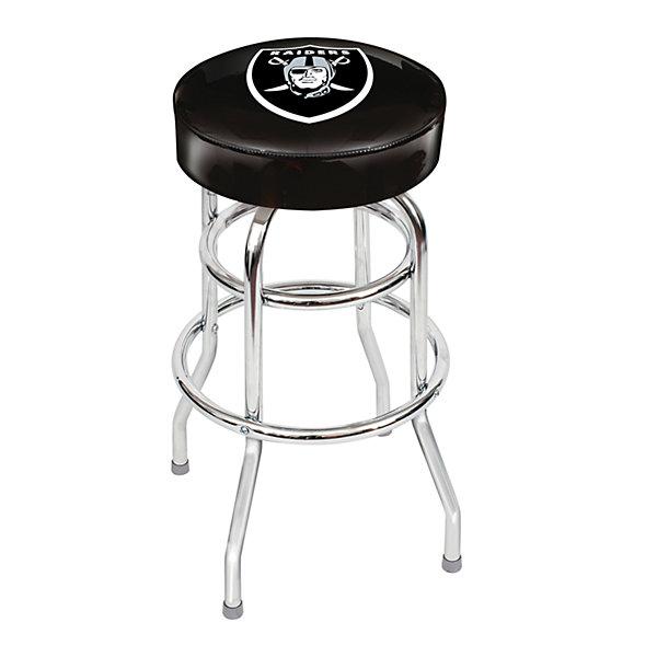 Oakland Raiders Bar Stool