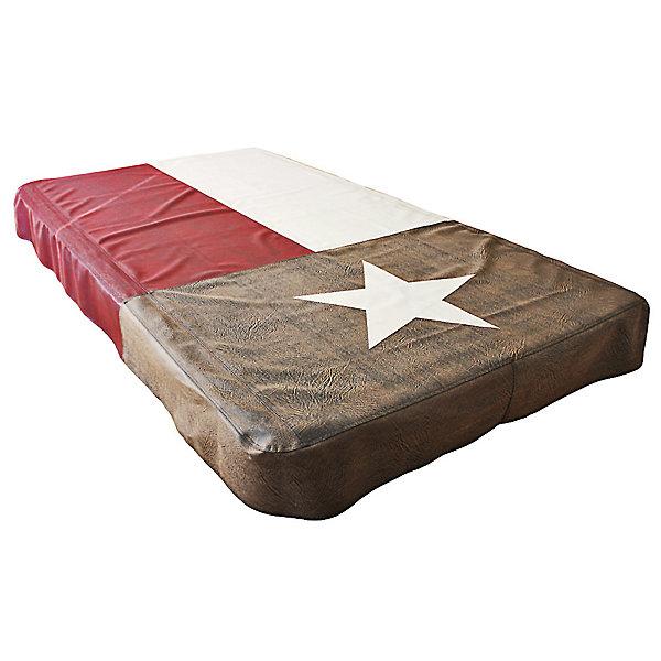 Texas Flag Pool Table Cover