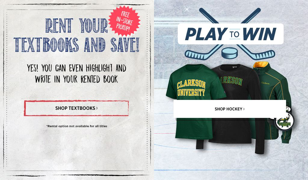 University Bookstore At Clarkson University Apparel Merchandise