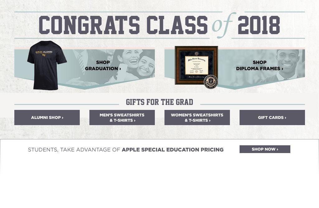 Congrats Class of 2018