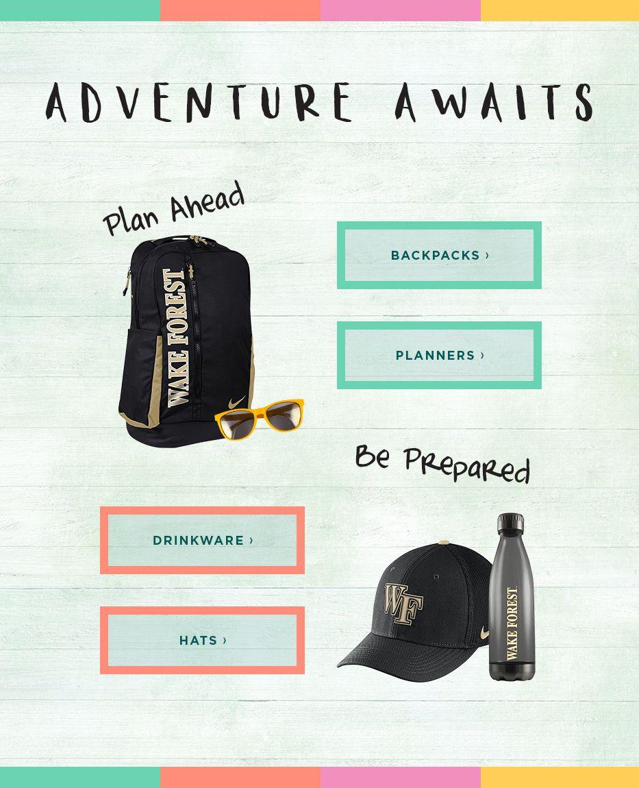Adventure Awaits. Plan Ahead. Be Prepared. 477ebd54a6526