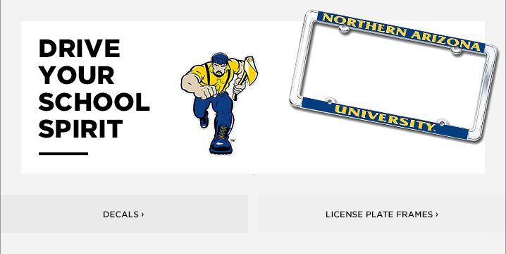 Northern Arizona University License Plate Frames Car