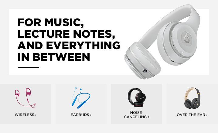 Lee University Beats Skull Candy Headphones And Earbuds