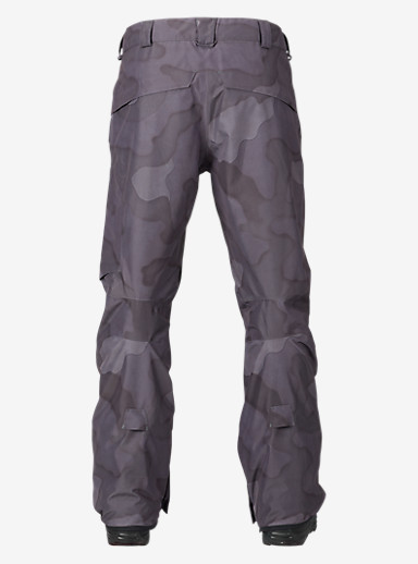 Burton [ak] 2L Cyclic Pant shown in True Black Hombre Camo