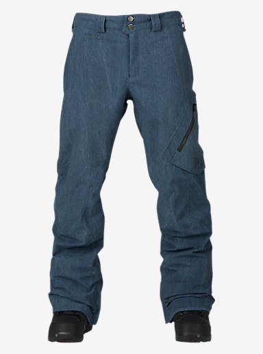 Burton [ak] 2L Cyclic Pant shown in Vintage Blue