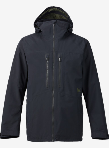 Burton [ak] 2L Swash Jacket shown in True Black