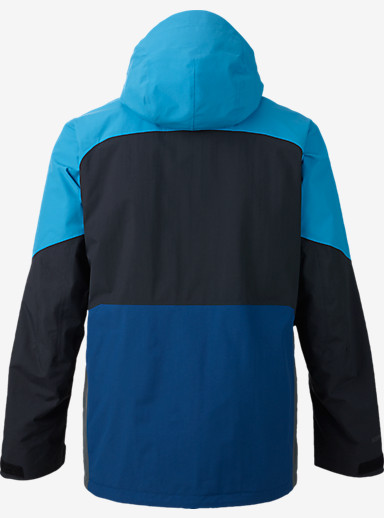 Burton [ak] 2L Swash Jacket shown in Boro / Heisenburg / Bog / True Black
