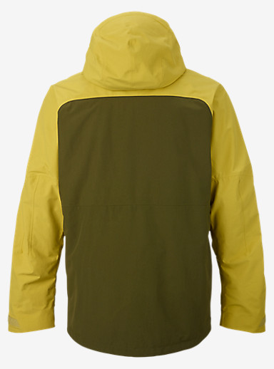 Burton [ak] 2L Swash Jacket shown in Poison Dart / Fir / Jungle