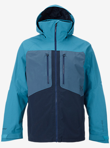 Burton [ak] 2L Swash Jacket shown in Larkspur / Washed Blue / Eclipse