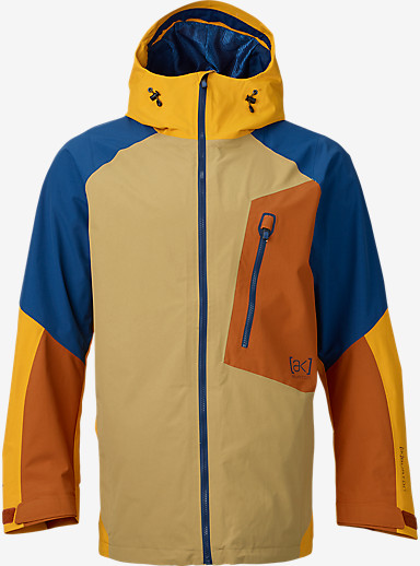 Burton [ak] 2L Cyclic Jacket shown in Putty / Adobe / Boro / Hazmat