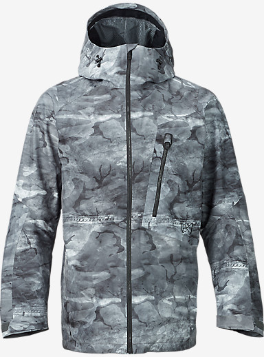 Burton [ak] 2L Cyclic Jacket shown in Snow Akamo