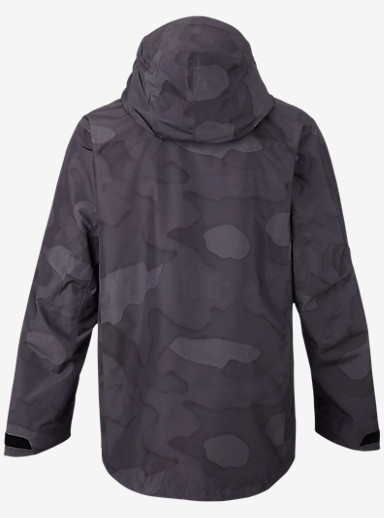 Burton [ak] 2L Cyclic Jacket shown in True Black Hombre Camo