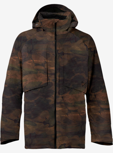 Burton [ak] 2L LZ Down Jacket shown in Akamo Print