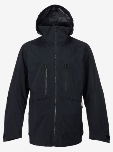 Burton [ak] 3L Hover Jacket shown in True Black