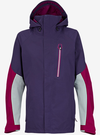 Burton [ak] 2L Altitude Jacket shown in Purple Label / Poison / Chill