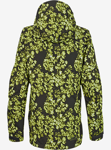 Burton [ak] 2L Altitude Jacket shown in Acid Leaf Camo