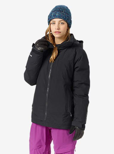 Burton [ak] 2L Flare Down Jacket shown in True Black