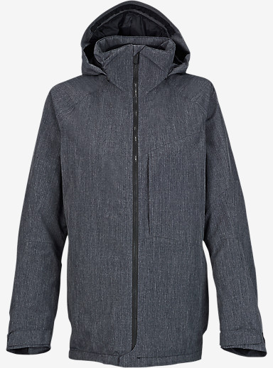 Burton [ak] 2L Embark Jacket shown in Heathered True Black