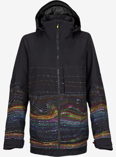 Burton [ak] 2L Embark Jacket shown in Glow Print