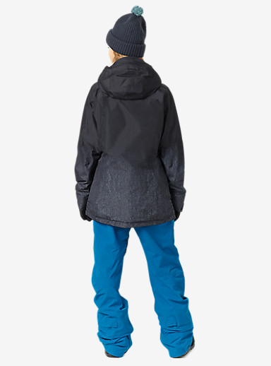 Burton [ak] 2L Embark Jacket shown in Fade to Black