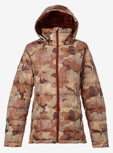 Burton [ak] Baker Down Insulator Jacket shown in Storm Camo