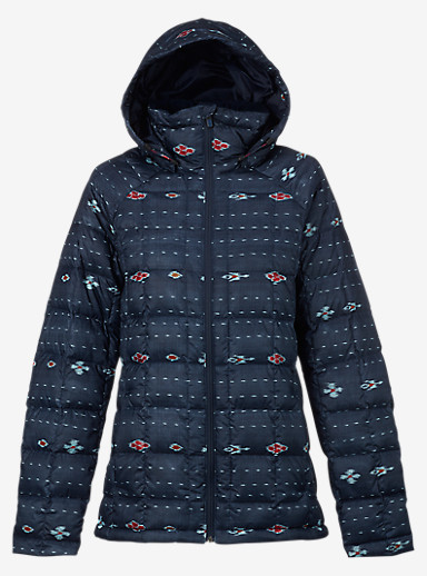 Burton [ak] Baker Down Insulator Jacket shown in Floral Ikat Stripe