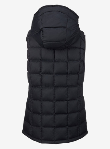Burton [ak] Squall Down Insulator Vest shown in Black Heather