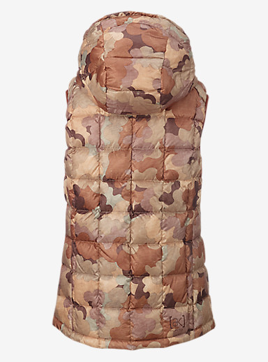 Burton [ak] Squall Down Insulator Vest shown in Storm Camo