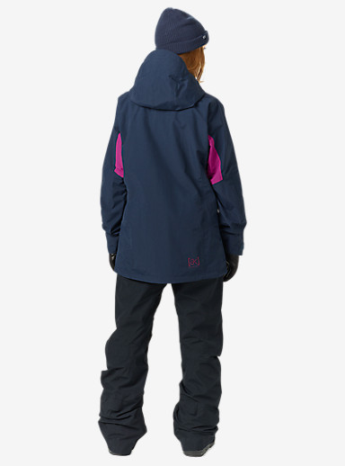 Burton [ak] 2L Blade Jacket shown in Eclipse / Grapeseed
