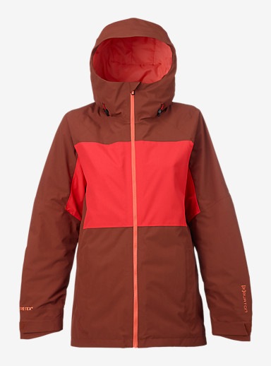 Burton [ak] 2L Blade Jacket shown in Matador / Coral
