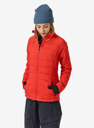 Burton [ak] Women's Helium Insulator Jacket shown in Coral