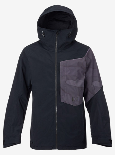 Burton [ak] 2L Boom Jacket shown in True Black / True Black Hombre Camo