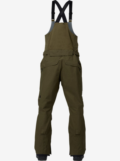 Burton [ak] 3L Freebird Bib Pant shown in Jungle