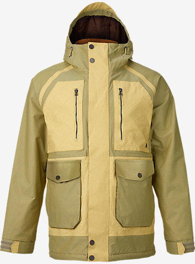 Burton Hellbrook Jacket shown in Grayeen / Wheat