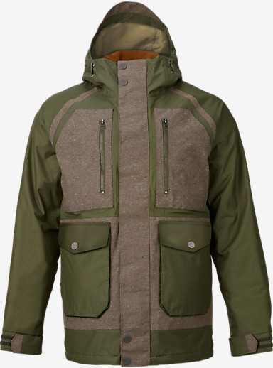 Burton Hellbrook Jacket shown in Keef / Hemp