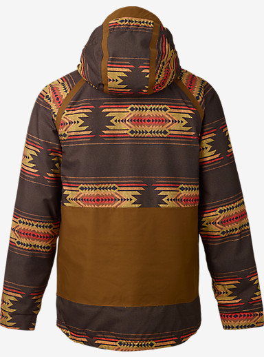 Burton Hellbrook Jacket shown in Mocha Sierra / Beaver Tail