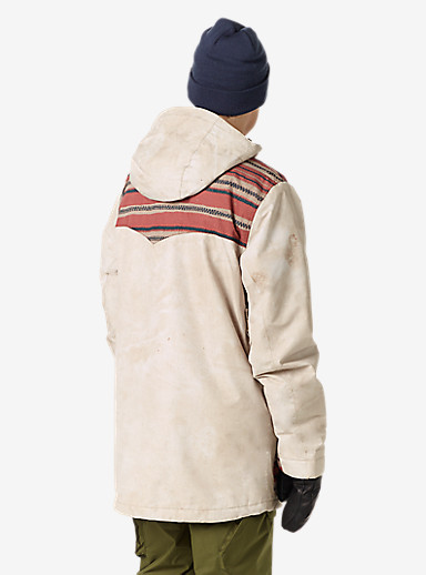 Burton Folsom Jacket shown in Surplus Canvas / Stag Stripe