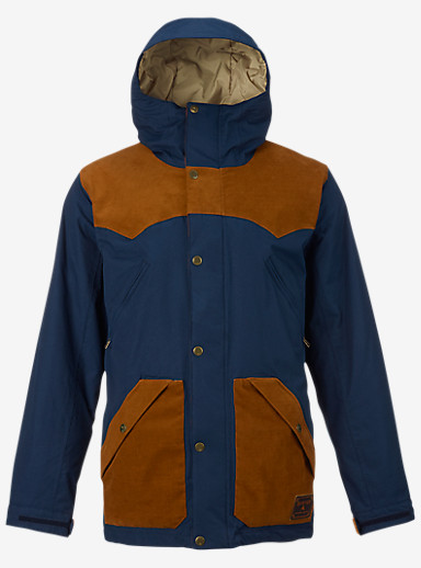 Burton Folsom Jacket shown in Eclipse / True Penny
