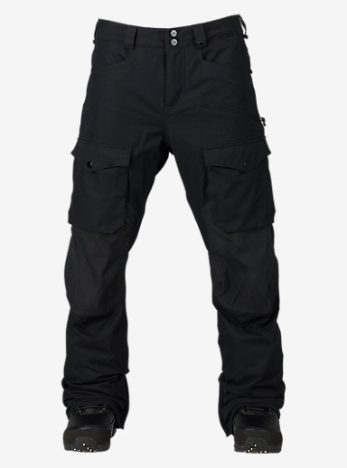 Burton Hellbrook Pant shown in True Black / True Black Waxed