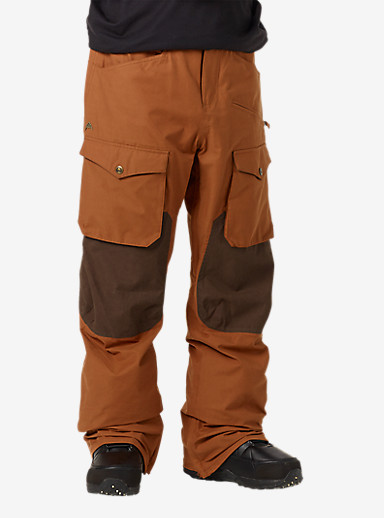 Burton Hellbrook Pant shown in True Penny / Mocha Waxed