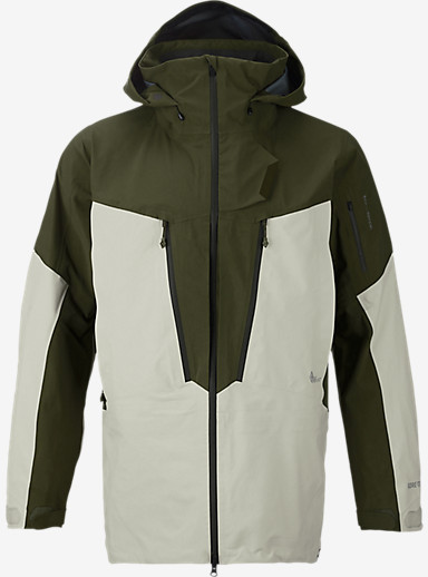 Burton AK457 Guide Jacket shown in Olive / Ivory