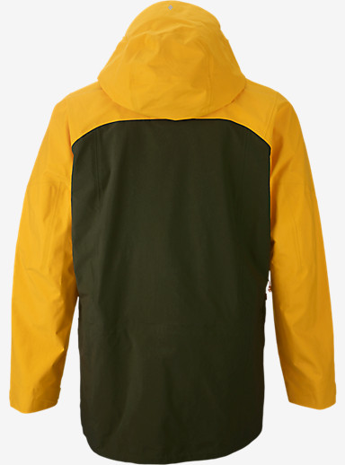 Burton AK457 Guide Jacket shown in Bright Yellow / Olive