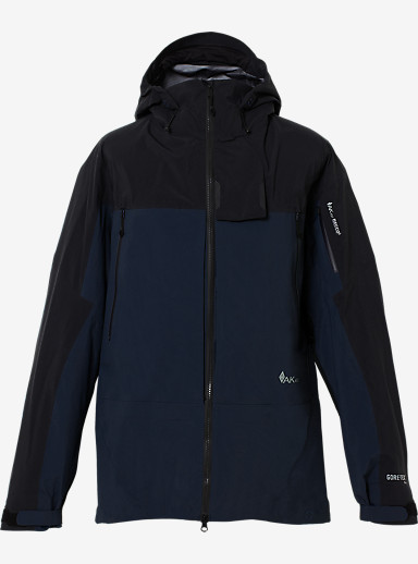 Burton AK457 Guide Jacket shown in True Black / Navy
