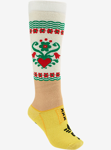 Burton Women's Party Snowboard Sock shown in Dutch Girl