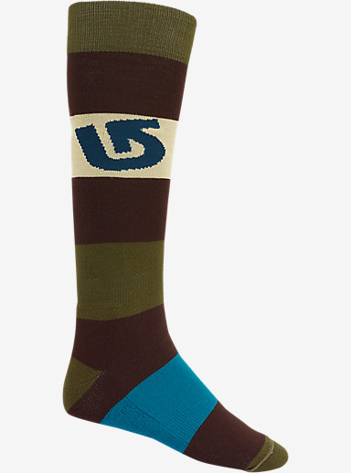 Burton Tailgate Snowboard Sock shown in Mocha