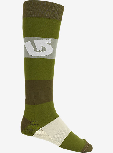 Burton Tailgate Snowboard Sock shown in Algae