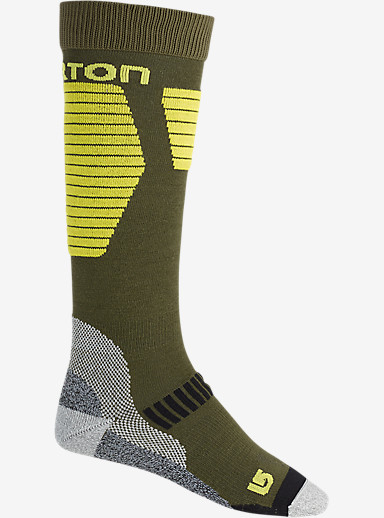 Burton Ultralight Wool Snowboard Sock shown in Keef