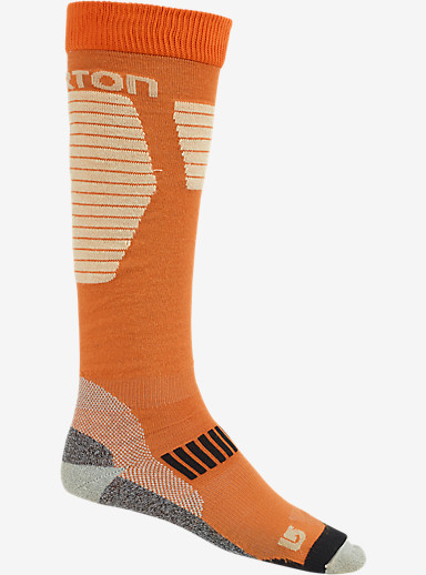 Burton Ultralight Wool Snowboard Sock shown in Maui Sunset